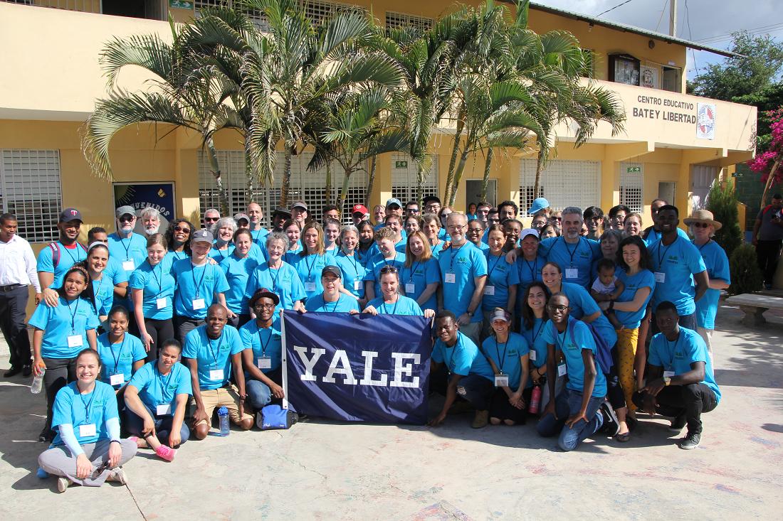 Yale Alumni Service Corps with Yspaniola